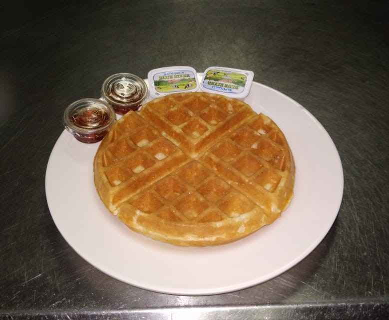 Waffles Clásico